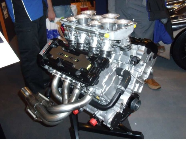Suzuki Hayabusa engines stuck together.