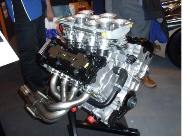 Suzuki Hayabusa engines stuck together.