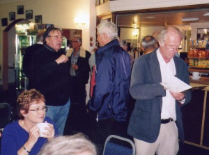 More members in Shoreham airport bar.