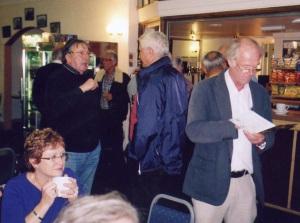 More members in Shoreham airport bar.