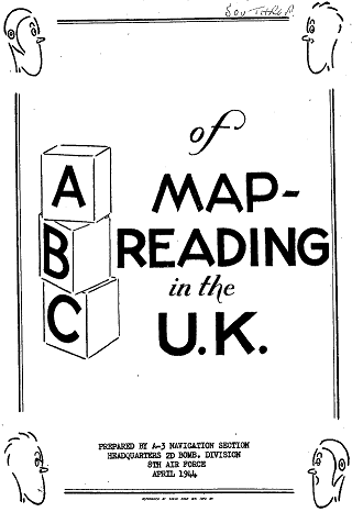 Front page of ABC of Map-Reading in the UK