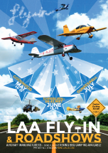 Poster for teh LAA Goodwood event