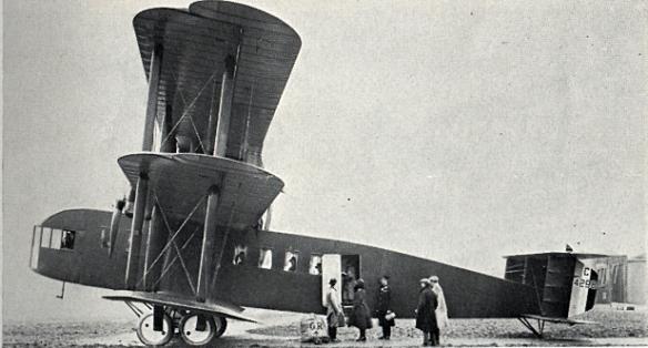 Bristol Type 26 Pullman Triplane