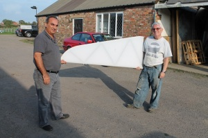 Covered tailplane