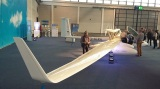 Single place solar motor glider (rather big)
